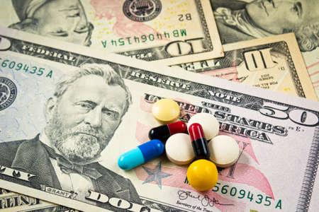 expensive: expensive medicine concept