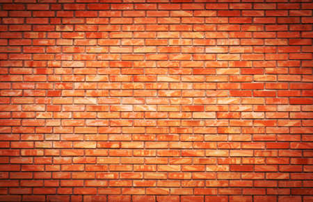urbanistic: Red brick wall as an urbanistic background