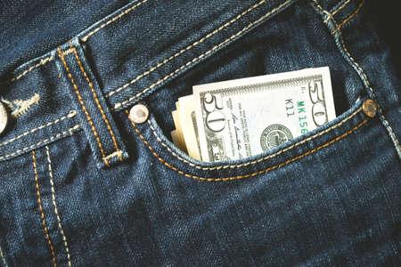 bolsa dinero: El dinero de bolsillo de cerca
