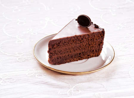 savour: Tea time with chocolate cake dessert
