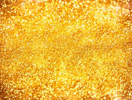 Wonderful golden glitter background