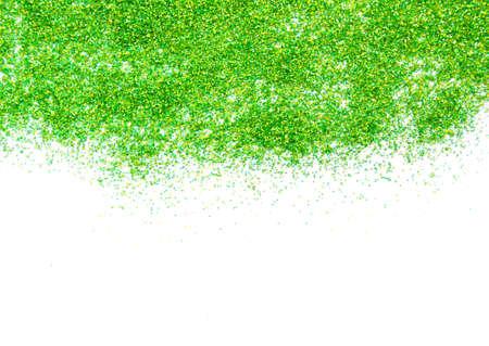 Abstract green glitter background Фото со стока