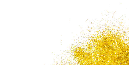 Abstract golden glitter background Фото со стока