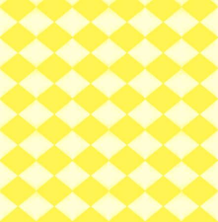 Yellow rhombus pattern