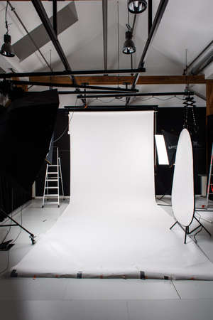 setup: Studio lighting setup