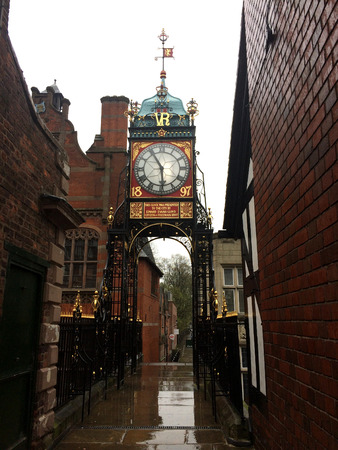 Eastgate Clock, Chester, England