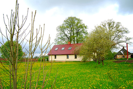 Lovely Latvian country home Imagens
