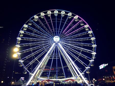 Big Wheel, Birmingham UK 2016 Editorial