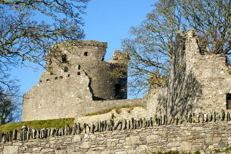Dundrum Castle ruins