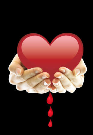 sad love: Its my heart crying because it lost you