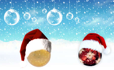 Here you can find a nice christmas ornaments photo