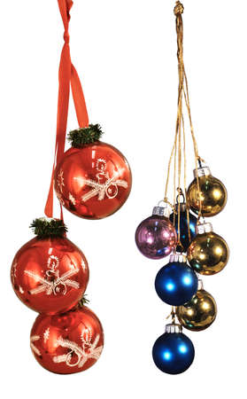 Here you can see nice Christmas ornaments Stock Photo - 6348758