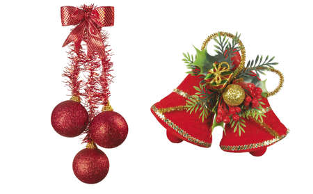 Here you can see a nice christmas decoration Stock Photo