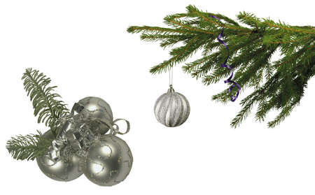 Here you can see Christmas decoration Stock Photo