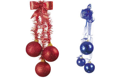 Here you can see nice Christmas ornaments and decorations Stock Photo - 6348755