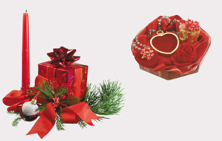 Here you can see Christmas And Wedding decoration