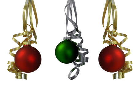 Here you can see nice Christmas ornaments and decorations photo