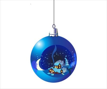 christmas ball Stock Vector - 9608277