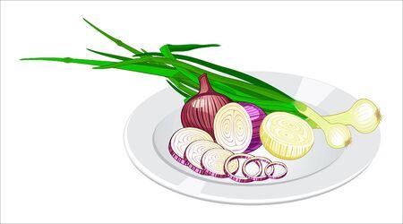 Cipolla sul piatto