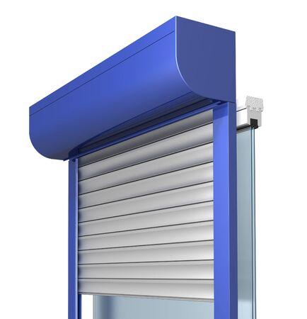 construction du système d'obturation fenêtre