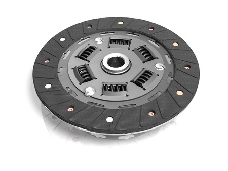 clutch disc Stock Photo - 11177573