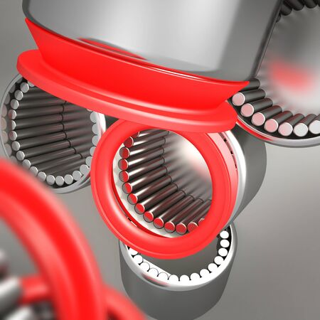Composition of bearings Stock Photo - 11177586