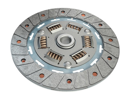 spare parts: Clutch Discs Stock Photo