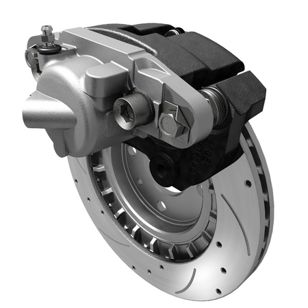 car part: Brake System Stock Photo