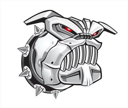 robot toy: agressive cyber dog