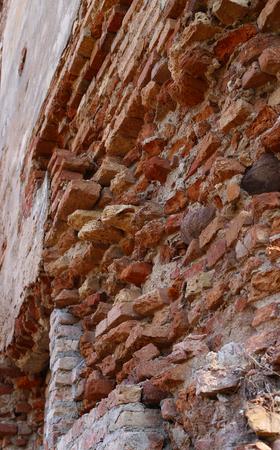 レンガ壁のフラグメント