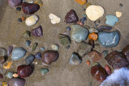 ウェット ビーチ石