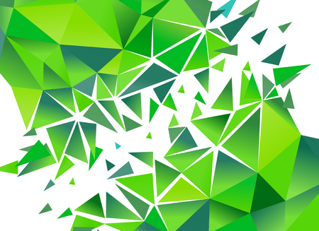 snippet: Abstract Polygon Background.  Vector