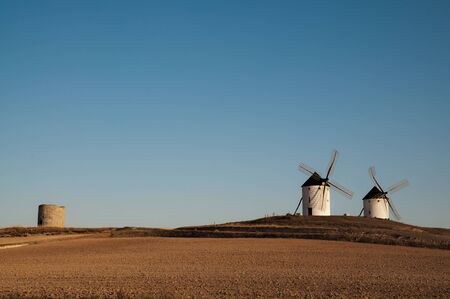 Windmills in the province of Toledo photo