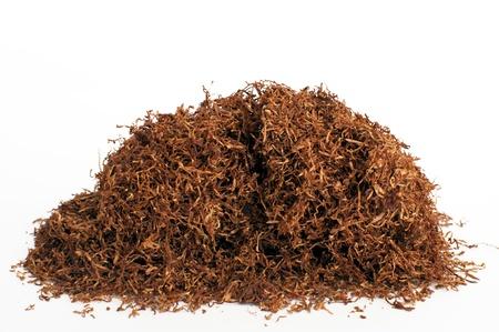tabaco: Apilamiento tabaco para fumar en pipa