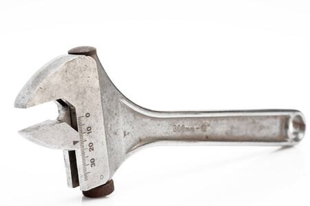 Serie old tools isolated on light background Stock Photo - 16555983