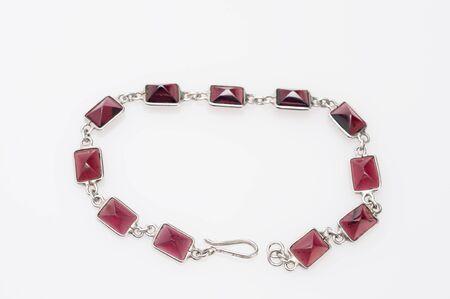 nicety: Lady bracelet isolated on light background