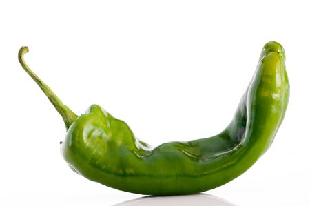 Detail of an isolated pepper photo