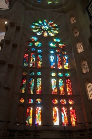 Series details Sagrada Familia in Barcelona Stock Photo - 17327174