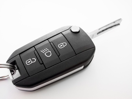 Detail of a car key photo