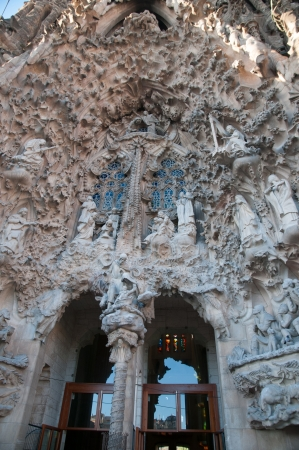 Series details Sagrada Familia in Barcelona