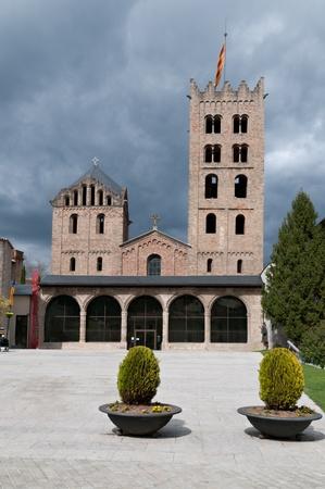 benedictine: Monasterio benedictino de Santa Mar�a de Ripoll