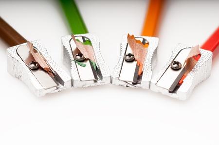Detail of a razor sharpener Stock Photo