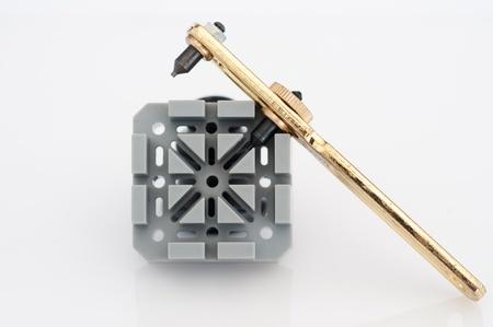 Special tools for repair of clocks Stock Photo - 19714181