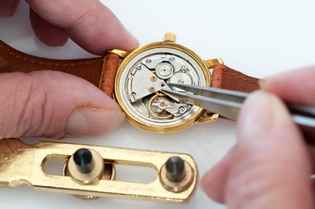 Special tools for repair of clocks Stock Photo - 19714244