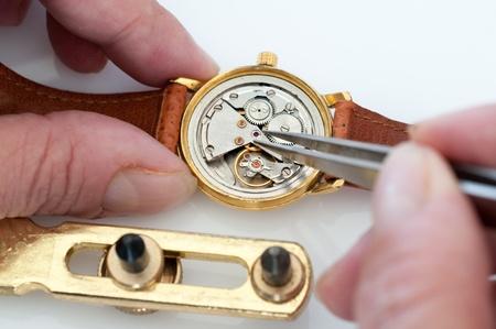 Special tools for repair of clocks Stock Photo - 19714244