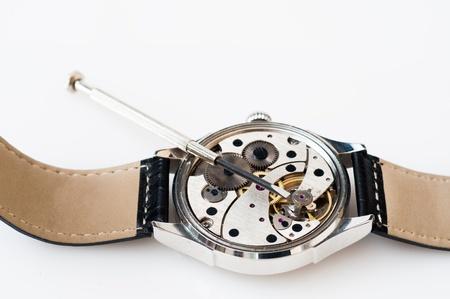 Special tools for repair of clocks Stock Photo - 19714200