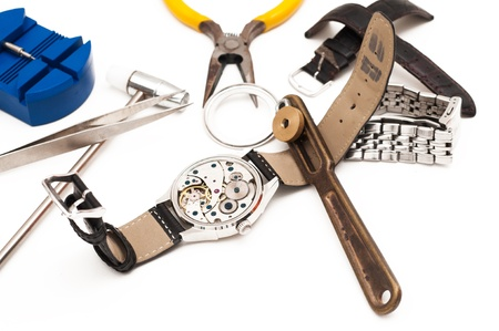 Special tools for repair of clocks Stock Photo - 20190488