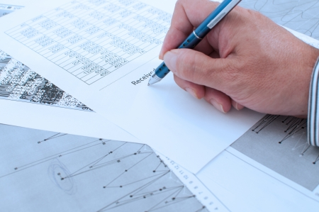 received: Detail the signing of a document as received