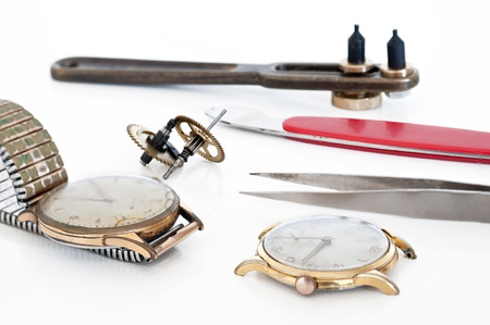 watchmaker: Tools for repair and restoration of clocks