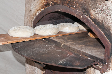 Overview of a bread oven photo
